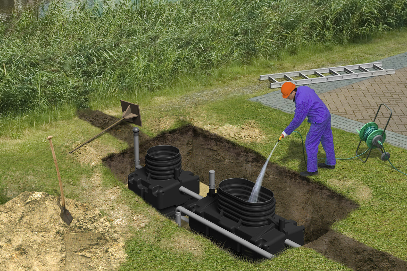 How Biorock Sewage Treatment Works Biorock U K