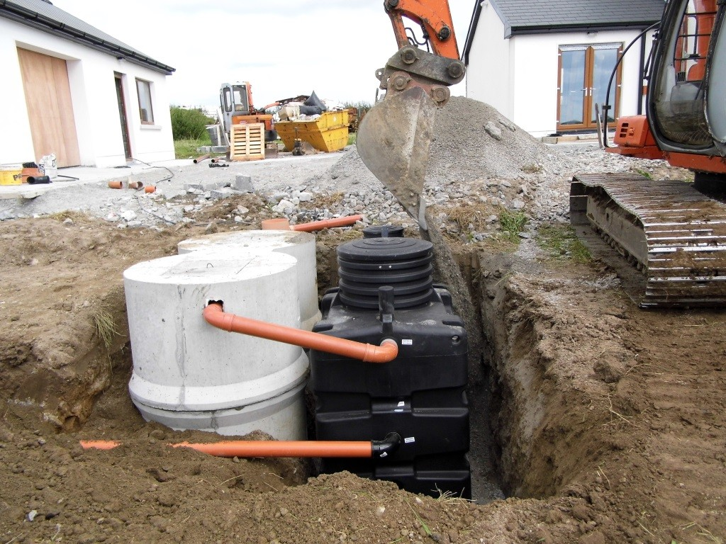 Biorock L Septic Tank Retrofit Upgrade Galway Ireland